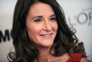 Melinda Gates and $33 billon in grant commitments.